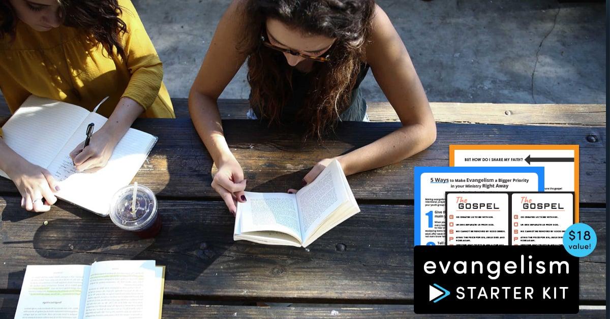Get a free Evangelism Starter Kit