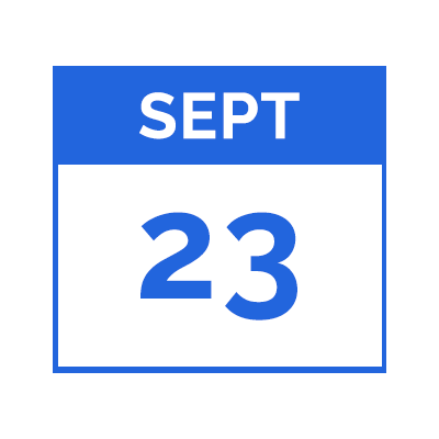 Thursday, September 23, 2021 @ 6pm